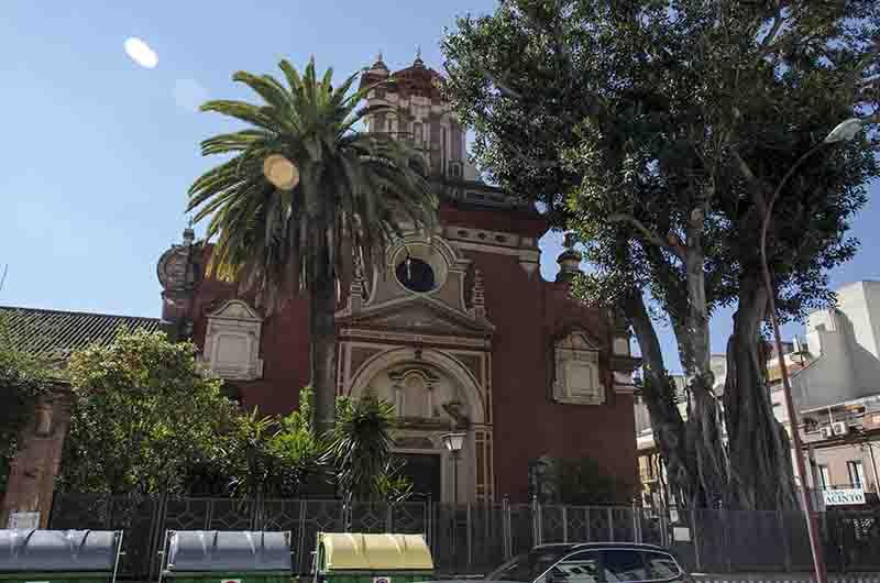 139 – Sevilla – barrio de Triana – iglesia de san Jacinto